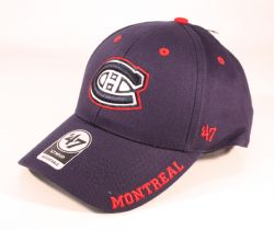 MONTREAL CANADIENS -  ADJUSTABLE BLUE CAP
