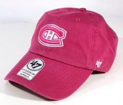 MONTREAL CANADIENS -  ADJUSTABLE CAP - PINK (WOMEN)