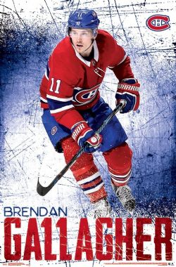 MONTREAL CANADIENS -  BRENDAN GALLAGHER #11 POSTER (22
