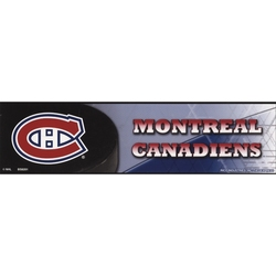 MONTREAL CANADIENS -  BUMPER STICKER