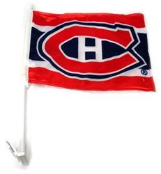 MONTREAL CANADIENS -  CAR FLAG