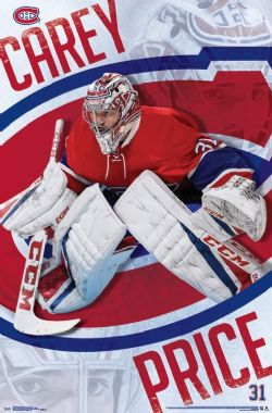 MONTREAL CANADIENS -  CAREY PRICE #31 POSTER (22
