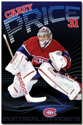 MONTREAL CANADIENS -  CAREY PRICE POSTER (22