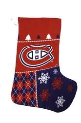 MONTREAL CANADIENS -  CHRISTMAS STOCKING (23