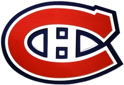 MONTREAL CANADIENS -  FOAM 3D LOGO SIGN (14.5