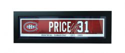 MONTREAL CANADIENS -  FRAMED CAREY PRICE #31 (6