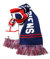 MONTREAL CANADIENS -  KNIT SCARF