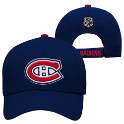 MONTREAL CANADIENS -  LOGO ADJUSTABLE CAP - BLUE (YOUTH)