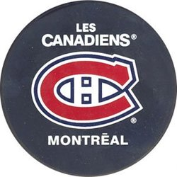 MONTREAL CANADIENS -  LOGO PUCK