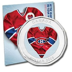 MONTREAL CANADIENS -  MONTREAL CANADIENS GIFT SET -  2009 CANADIAN COINS
