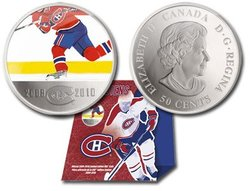 MONTREAL CANADIENS -  MONTREAL CANADIENS PLAYER -  2010 CANADIAN COINS
