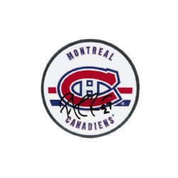 MONTREAL CANADIENS -  PATRICK ROY AUTOGRAPHED ACRYLIC HOCKEY PUCK
