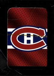 MONTREAL CANADIENS -  PLAYING CARDS