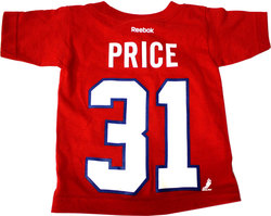 MONTREAL CANADIENS -  RED CAREY PRICE #31 T-SHIRT (TODDLER)