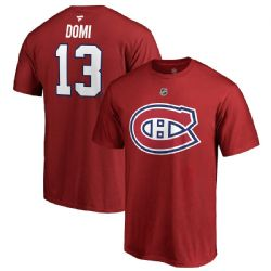 MONTREAL CANADIENS -  RED MAX DOMI #13 T-SHIRT