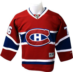 MONTREAL CANADIENS -  RED P.K. SUBBAN #67 REPLICA JERSEY (JUNIOR)