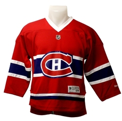 MONTREAL CANADIENS -  REPLICA JERSEY RED (JUNIOR - SMALL/MEDIUM)
