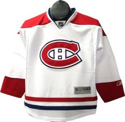 MONTREAL CANADIENS -  REPLICA JERSEY WHITE (JUNIOR - LARGE/X-LARGE)