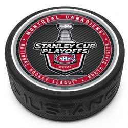 MONTREAL CANADIENS -  STANLEY CUP PLAYOFF PUCK 2021