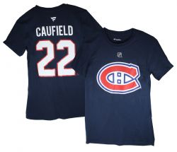 MONTREAL CANADIENS -  T-SHIRT SHORT SLEEVES 22 -  COLE CAUFIELD