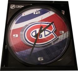 MONTREAL CANADIENS -  WALL CLOCK (15 1/2
