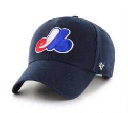 MONTREAL EXPOS -  ADJUSTABLE CAP - NAVY BLUE