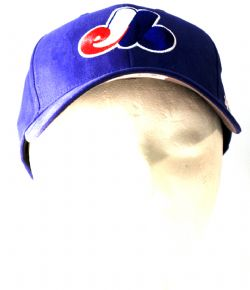 MONTREAL EXPOS -  BLUE ADJUSTABLE CAP (YOUTH)