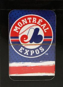 MONTREAL EXPOS -  PLAYING CARDS