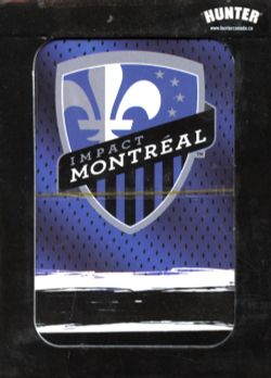 MONTREAL IMPACT -  PLAYING CARDS