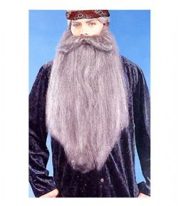 MOUSTACHES AND BEARDS -  EXTRA LONG BEARD 18