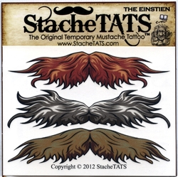 MOUSTACHES AND BEARDS -  TEMPORARY TATTOO - MUSTACHE