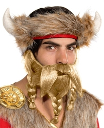MOUSTACHES AND BEARDS -  WARRIOR BEARD - BLONDE