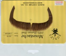 MOUSTACHES AND BEARDS -  ZAPATA MOUSTACHE -LITTLE BROWN