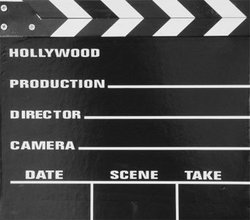 MOVIE -  SMALL CLAPBOARD