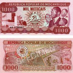 MOZAMBIQUE -  1000 METICAIS 1983 (UNC)