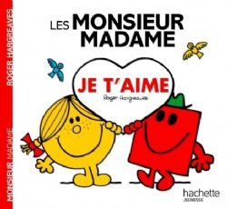 MR. MEN AND LITTLE MISS -  JE T'AIME -  MONSIEUR MADAME