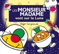 MR. MEN AND LITTLE MISS -  VONT SUR LA LUNE