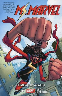 MS.MARVEL -  TIME AND AGAIN TP -  MS. MARVEL VOL.4 (2016-) 10