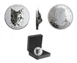 MULTIFACETED ANIMAL HEAD -  LYNX -  2020 CANADIAN COINS 03