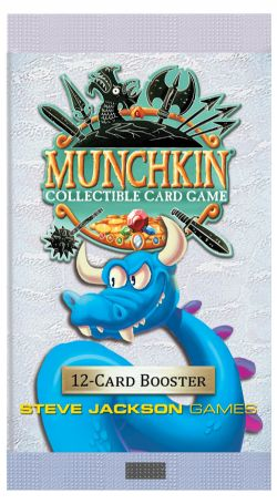 MUNCHKIN COLLECTIBLE CARD GAME -  12-CARD BOOSTER (ENGLISH)