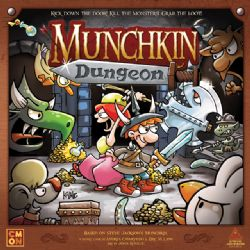 MUNCHKIN DUNGEON -  BASE GAME (ENGLISH)