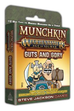 MUNCHKIN -  GUTS AND GORY (ENGLISH) -  WARHAMMER : AGE OF SIGMAR