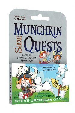 MUNCHKIN -  SIDE QUEST (ENGLISH)
