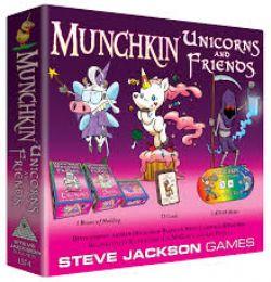 MUNCHKIN -  UNICORNS AND FRIENDS (ENGLISH)