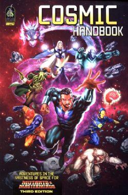 MUTANTS & MASTERMINDS -  COSMIC HANDBOOK - 3RD EDITION
