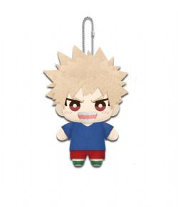 MY HERO ACADEMIA -  BAHUGO PLUSH KEYCHAIN (YOUNG VERSION) (7 INCH)