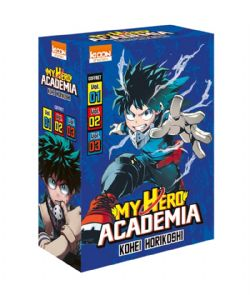 MY HERO ACADEMIA -  COFFRET (TOMES 01 A 03)