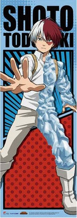 MY HERO ACADEMIA -  TODOROKI BATTLE SUIT (2' X 5'6