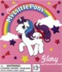 MY LITTLE PONY -  GLORY & ILLUSTRATED BOOK -  MINI-KIT