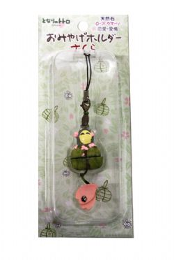 MY NEIGHBOR TOTORO -  CELL PHONE CHARM - PINK FLOWER